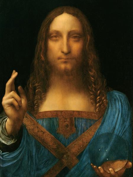 """""""Salvator Mundi"""", de Leonardo da Vinci - Divulgação"""
