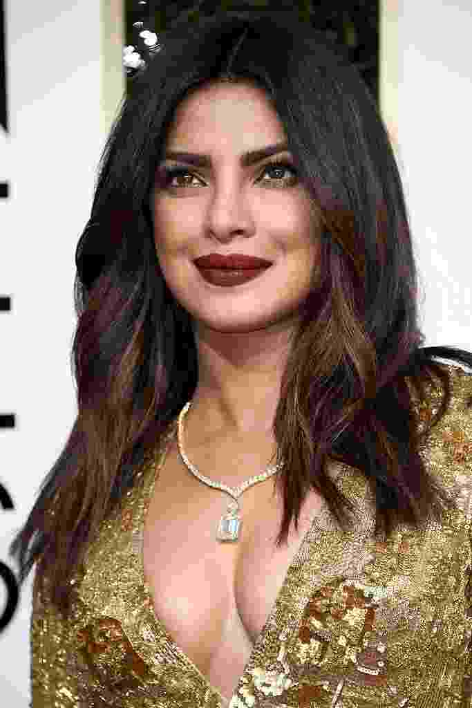 Priyanka Chopra no Globo de Ouro - Getty Images