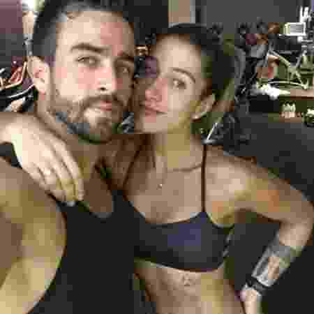 Gabriela e Erasmo. A blogueira tem 3 milhões de seguidores no Instagram - Reprodução/Instagram