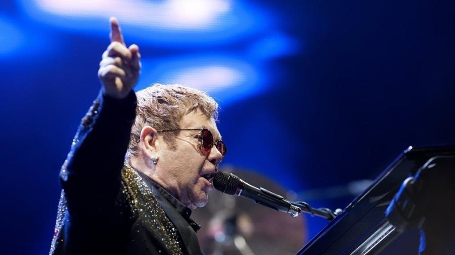 O cantor Elton John - Reinaldo Canato/UOL