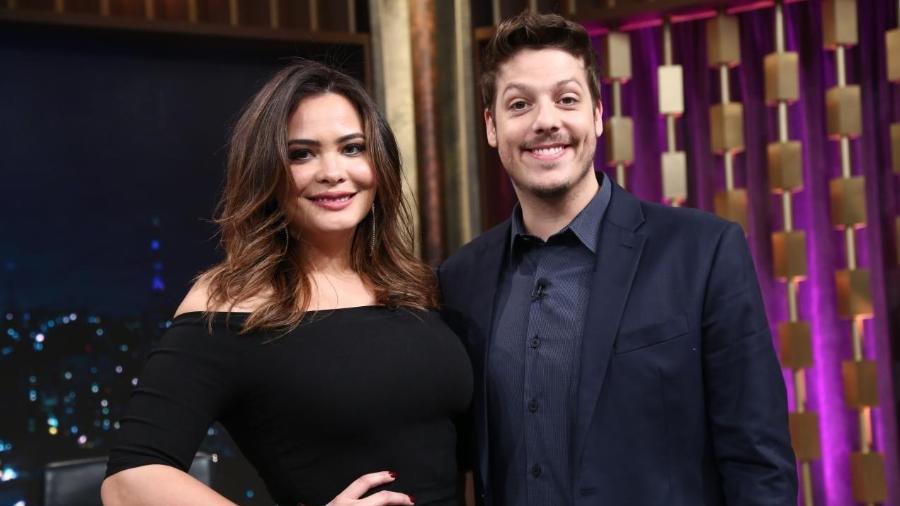 """Geisy Arruda no """"Programa do Porchat"""" - Divulgação/RecordTV"""