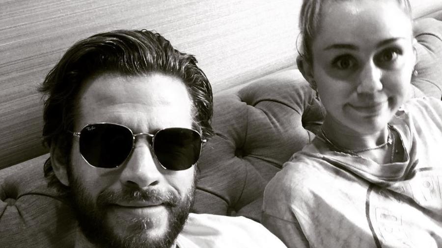 Liam Hermsworth e Miley Cyrus - Reprodução/Instagram