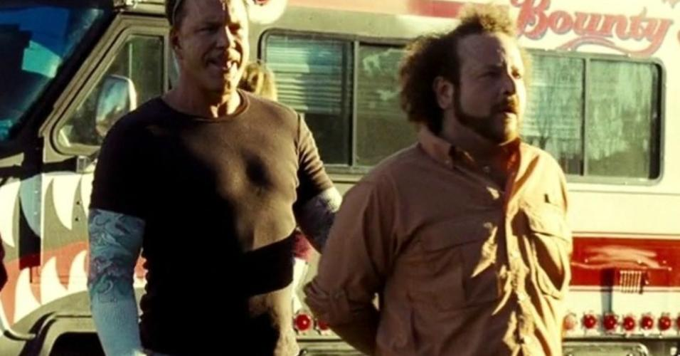 """Charles Paraventi em cena em """"Domino: A Caçadora de Recompensas"""" (2005)"""