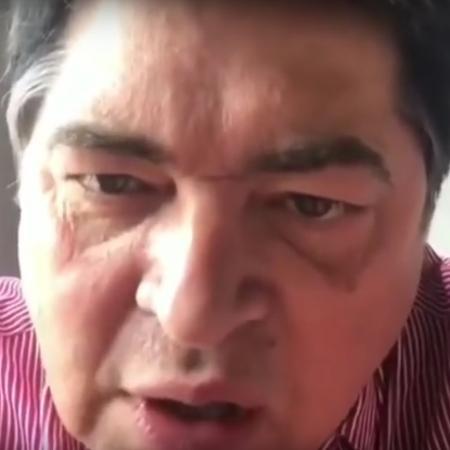 Datena gravou um vídeo sobre as declarações racistas de Day McCarthy - Reprodução