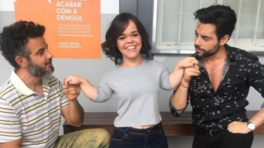 Juliana Caldas entre Anderson Di Rizzi e Pedro Carvalho - Reprodução/Instagram/pedrocarvalho_oficial