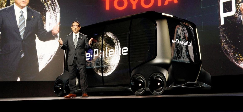 Toyota e-Palette Concept - MANDEL NGAN/AFP