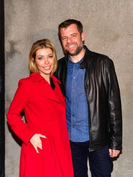 Luiza Possi e o noivo, diretor do Show dos Famosos, Cris Gomes - Ag.News