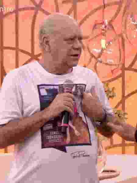 """Tonico Pereira no """"Encontro"""" - Reprodução/Globo"""