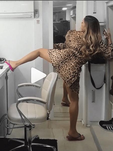Claudia Leitte rebola empolgada - Reprodução/Instagram