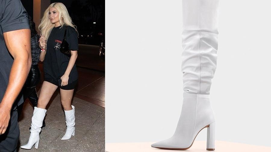 f08a073121 Kylie Jenner passeia com botas de marca brasileira que custam R ...