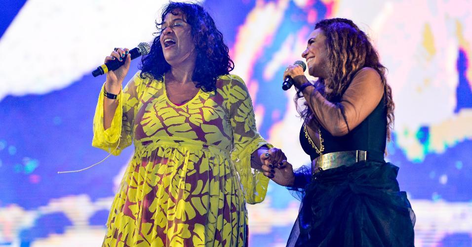 Daniela Mercury e Tulipa Ruiz no Festival Virada Salvador
