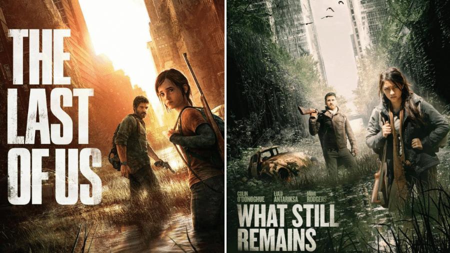 """O filme """"What Still Remains"""" foi acusado de copiar um pôster do game """"The Last of Us"""" - Reprodução/Montagem"""