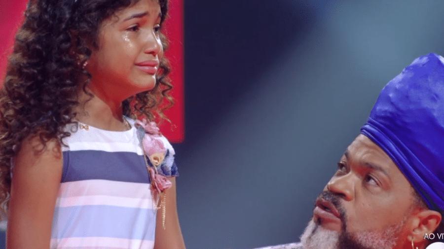 """Bia é eliminada do """"The Voice Kids"""" - Reprodução/Globo"""
