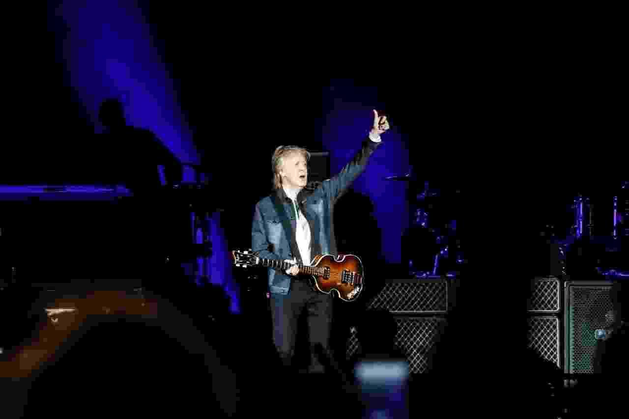 Paul McCartney - show no Allianz Parque, em São Paulo - Lucas Lima / UOL