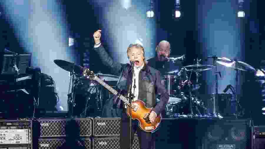 Paul McCartney em show no Allianz Parque, em São Paulo - Lucas Lima / UOL