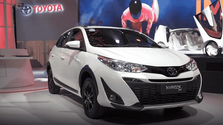 Toyota Yaris X-Way - Reprodução - Reprodução