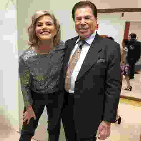 Maria Cândida e Silvio Santos - Instagram - Instagram