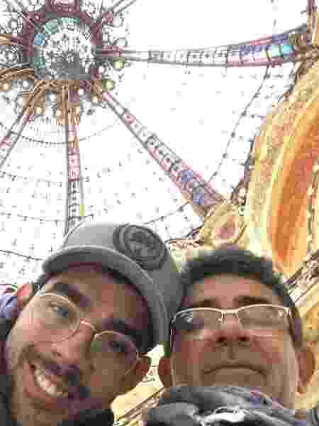 Cizinato Diniz em foto com o filho, Gabriel Diniz - Reprodução/Instagram