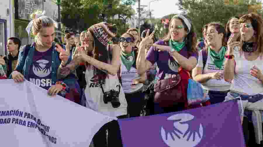 MOSFA - Movimiento de Sordas Feministas Argentina - Reprodução/Facebook