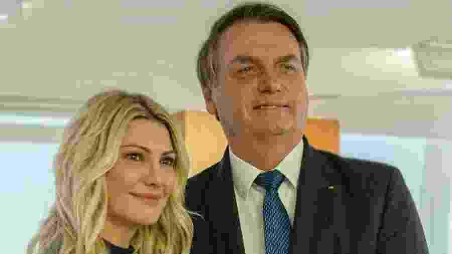 Antonia Fontenelle e Jair Bolsonaro - Reprodução/Instagram
