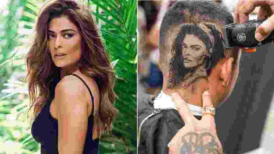 Juliana Paes e o corte de cabelo em sua homenagem - Reprodução/Instagram