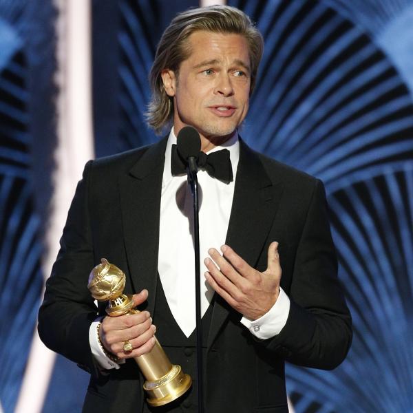 Brad Pitt foi um dos vencedores do Globo de Ouro 2020