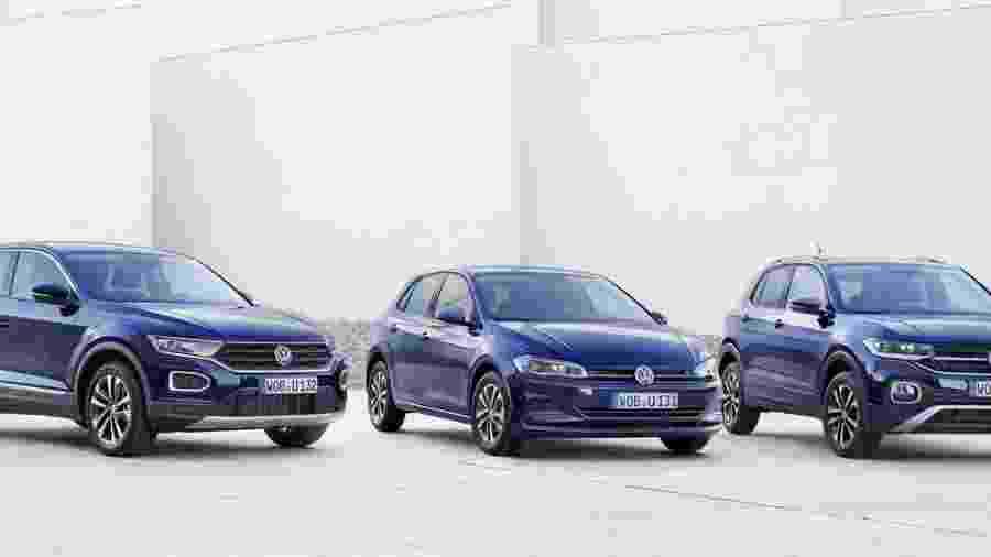 Volkswagen apresenta carros na versão especial United Series - Divulgação