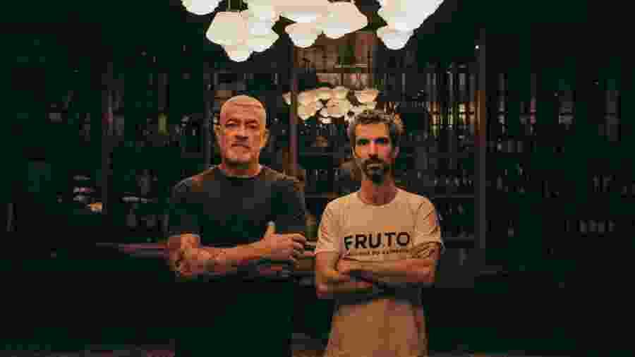O chef Alex Atal e o produtor cultural Felipe Ribenboim reúnem mais de 20 palestras no seminário FRUTO -  Andre Giorgi/UOL