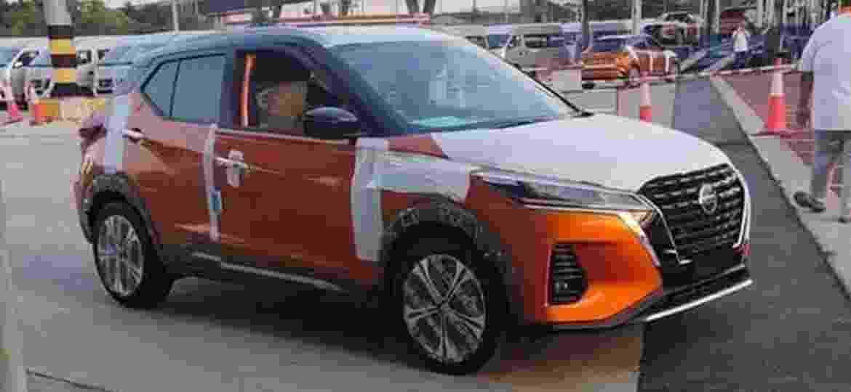 Novo Kicks terá mudanças mais significativas na dianteira - Reprodução/Thai Car Inside