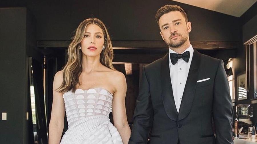 Jessica Biel e Justin Timberlake - Reprodução/Instagram