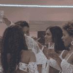 Reprodução/Playplus - A Fazenda 2020: Peões curtem festa 'share'