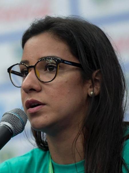 A ex-nadadora Joanna Maranhão. - Divulgação