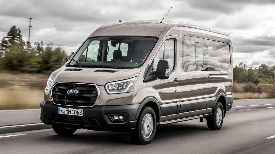 Ford Transit 2020 - Divulgação