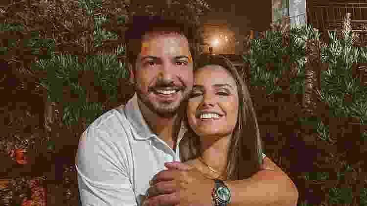 Thiago Bertoldo e Geórgia Fröhlich - Reprodução/Instagram - Reprodução/Instagram