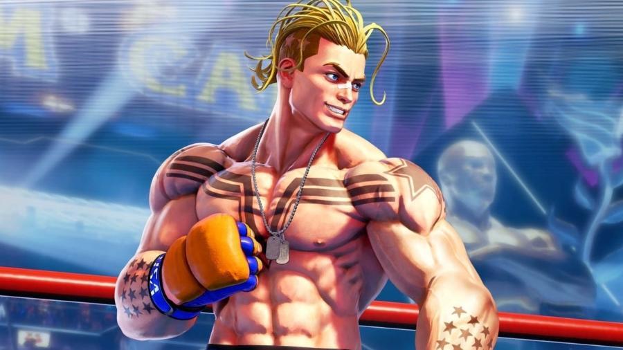 Street Fighter V Luke - Divulgação/Capcom