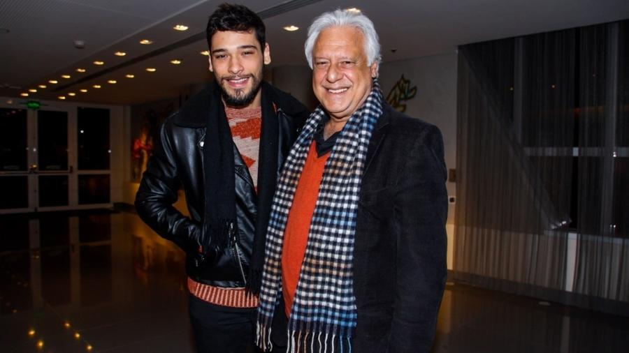 Antonio Fagundes com o filho, Bruno Fagundes - Manuela Scarpa e Marcos Ribas/Photo Rio News