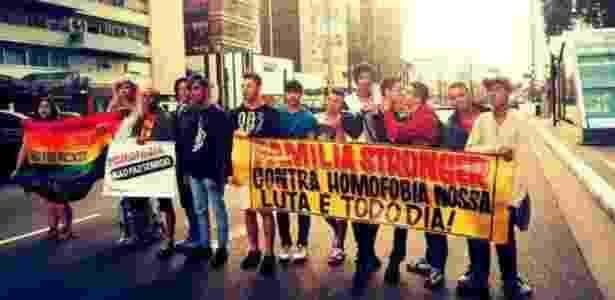 Em grupos de apoio mútuo, jovens batalham pelo avanço dos direitos LGBT - Arquivo Pessoal/ BBC