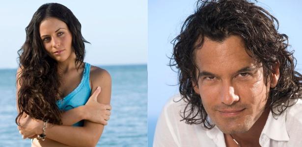 """Estrela Marina (Zuria) e Victor Manuel (Mario Cimarro) são os protagonista de """"Mar de Amor""""  - Divulgação"""