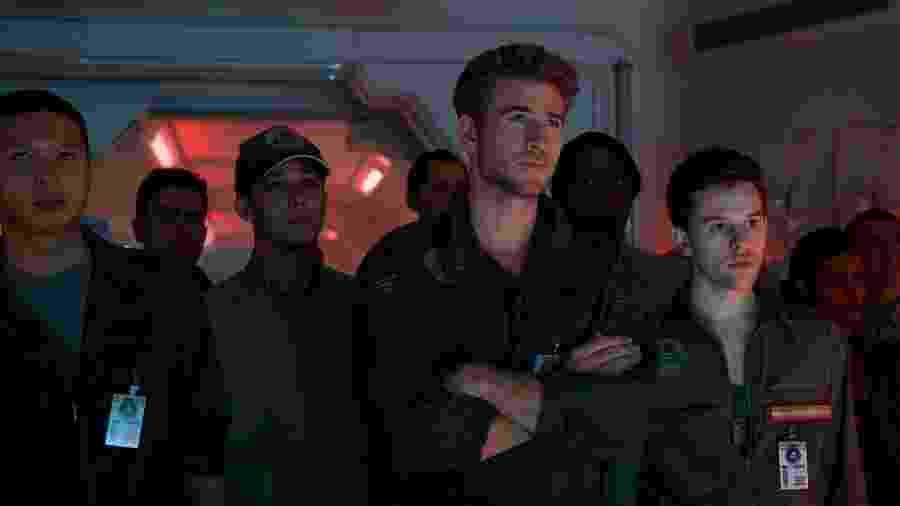 """Liam Hemsworth em cena do filme """"Independence Day - O Ressurgimento"""" - Divulgação"""