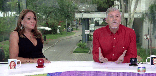 """Miguel Falabella e Susana Vieira assumem """"Vídeo Show"""" - Reprodução/TV Globo"""