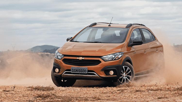 Chevrolet Onix Activ - Murilo Góes/UOL - Murilo Góes/UOL