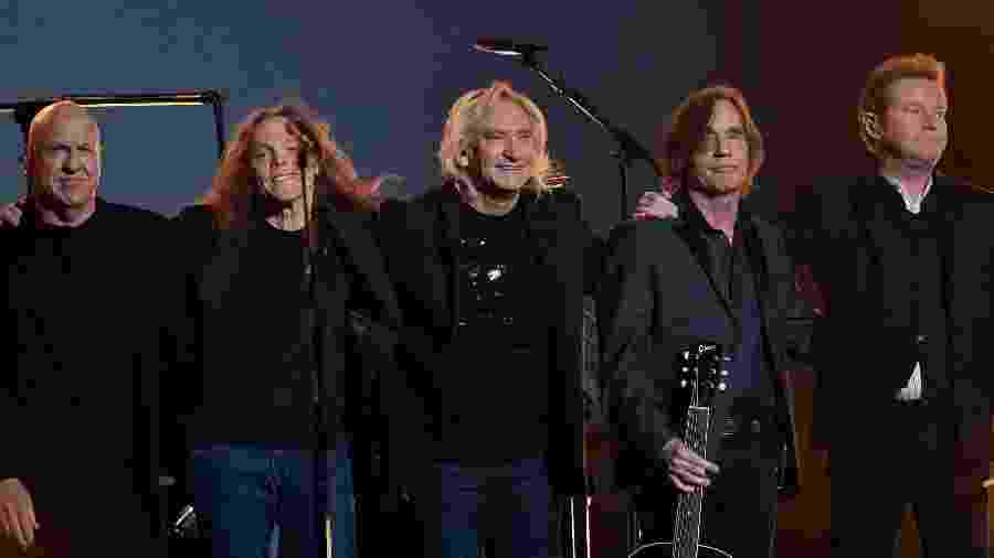 A banda americana Eagles, que recentemente anunciou que voltará a se apresentar - Getty Images