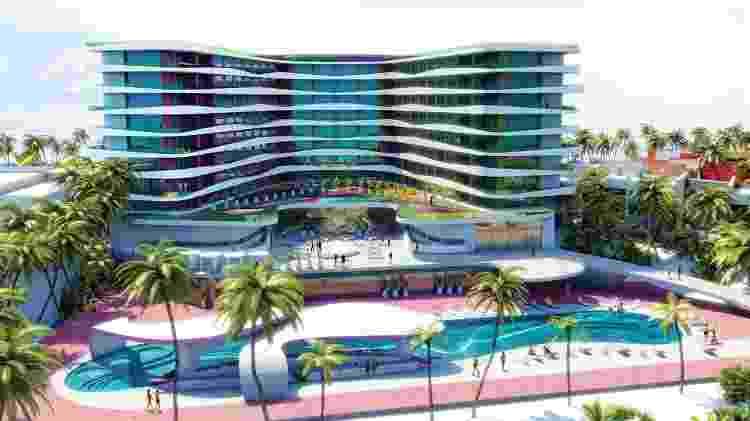 """Imagem do resort """"Temptation"""" em Cancún, no México - Reprodução/Booking.com - Reprodução/Booking.com"""
