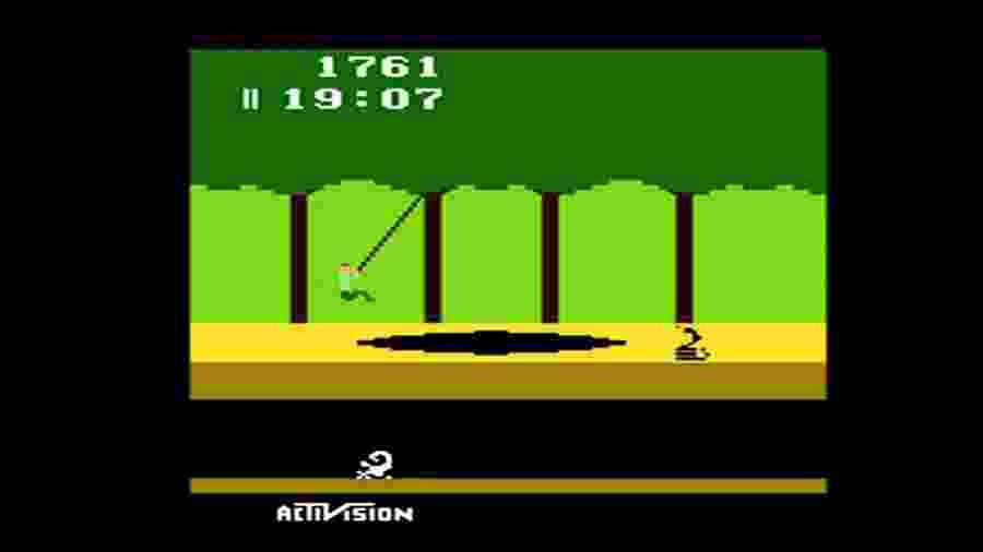 David Crane, criador do jogo, precisou suar muito para driblar as limitações impostas pelo hardware do Atari 2600 - Reprodução