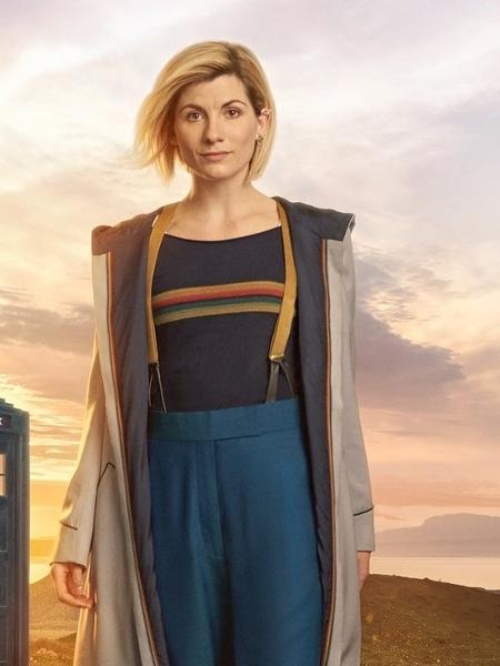 """Jodie Whitaker aparece pela primeira vez como a doutora em foto de """"Doctor Who"""" - Reprodução/Twitter/BBC"""