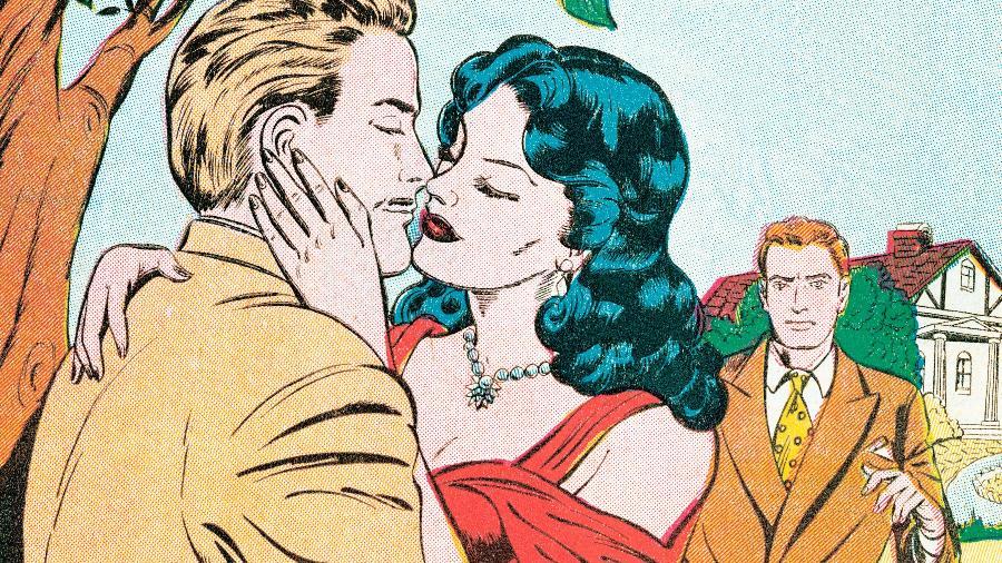 """Em vez de se discutir o que levou à infidelidade, pode-se ficar condicionado a se """"defender"""" dentro da relação - Getty Images"""