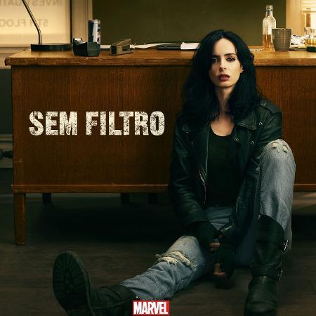 """Netflix divulga pôster da segunda temporada de """"Jessica Jones"""" - Divulgação"""