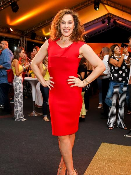 A atriz Claudia Raia em evento em São Paulo - Manuela Scarpa/Brazil News