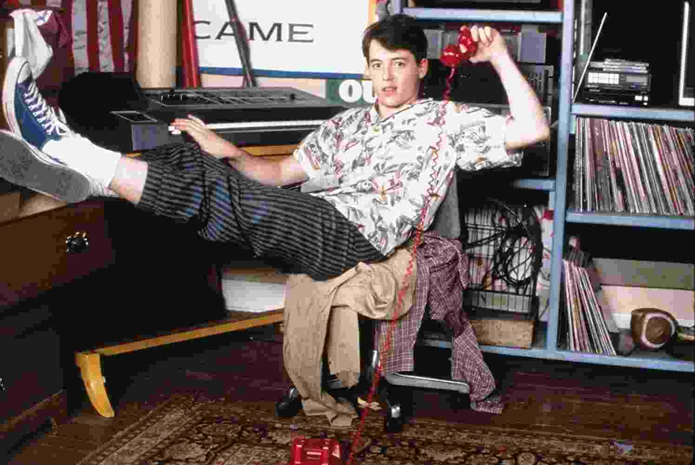 """Matthew Broderick em cena de """"Curtindo a Vida Adoidado"""" (1986) - Divulgação"""