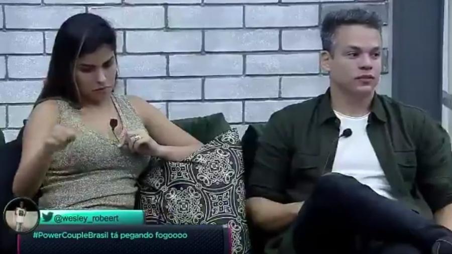"Anderson Felício no ""Power Couple Brasil"" - Reprodução/Record"